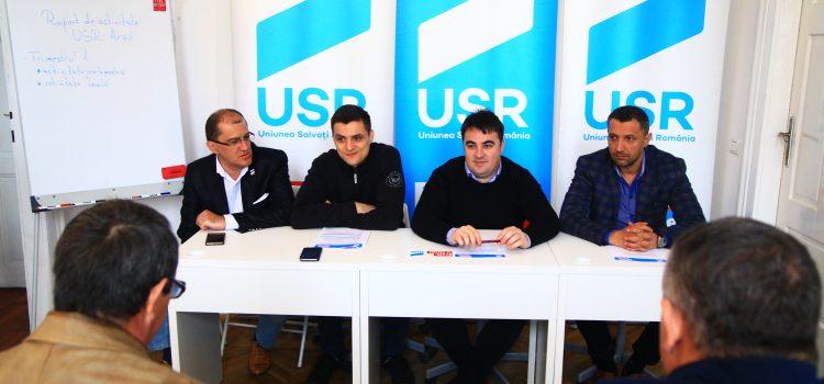 USR Arad dă un exemplu de transparență cu primul raport de activitate