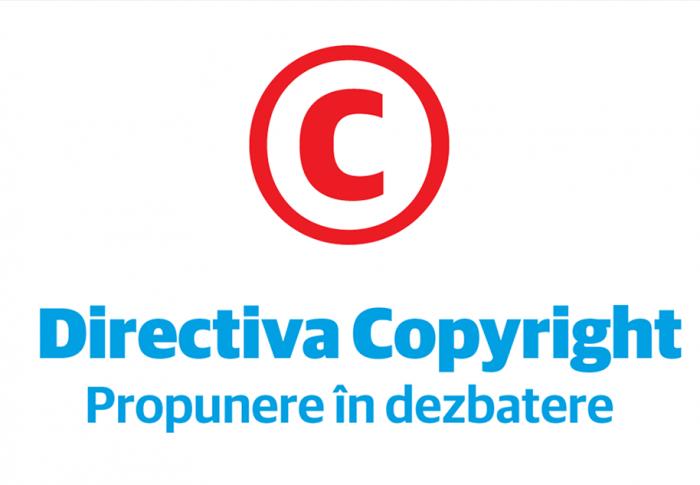 Directiva Copyright – Propunere în dezbatere – Cătălin Drulă