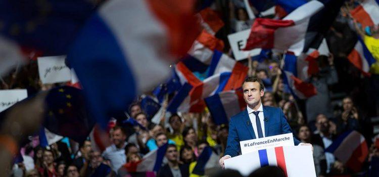 USR: Victoria lui Macron în turul 1, un semnal pozitiv pentru Europa