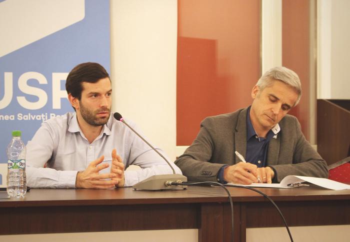 Întâlnire USR – Momentum din Ungaria, la Cluj-Napoca