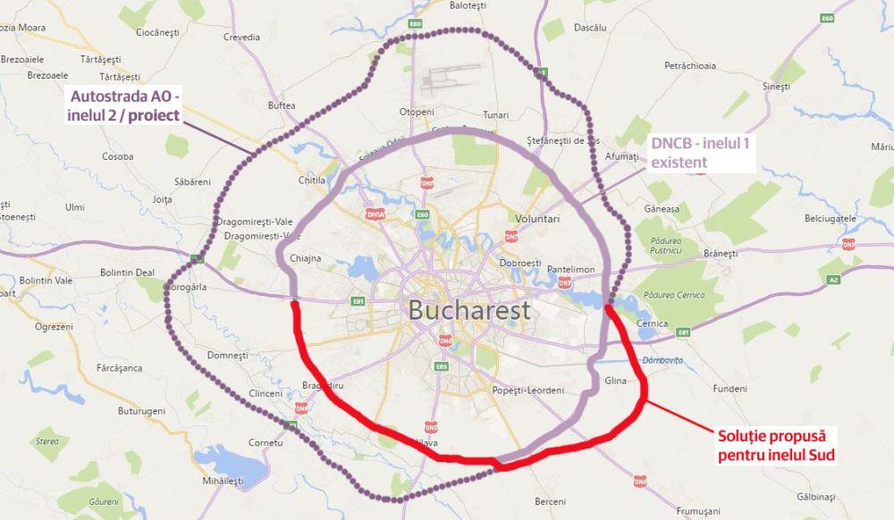 Harta Centura Bucuresti Final Uniunea Salvați Romania