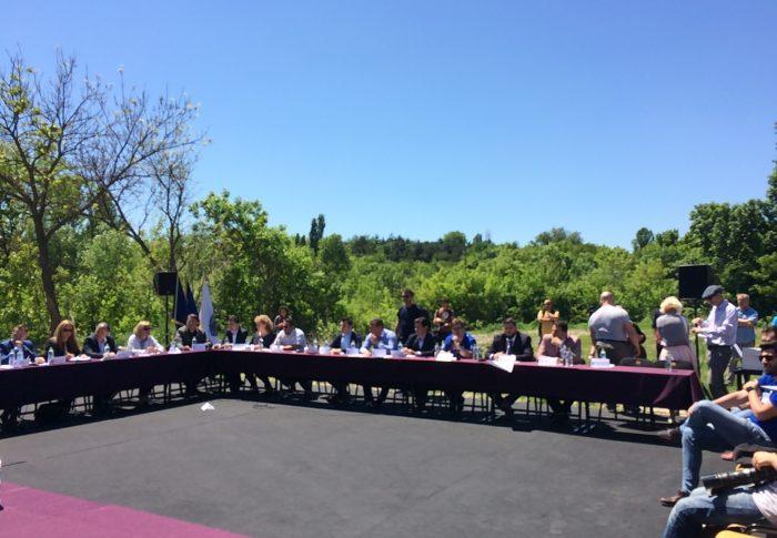 USR se opune construirii unei parcări în Parcul Tineretului