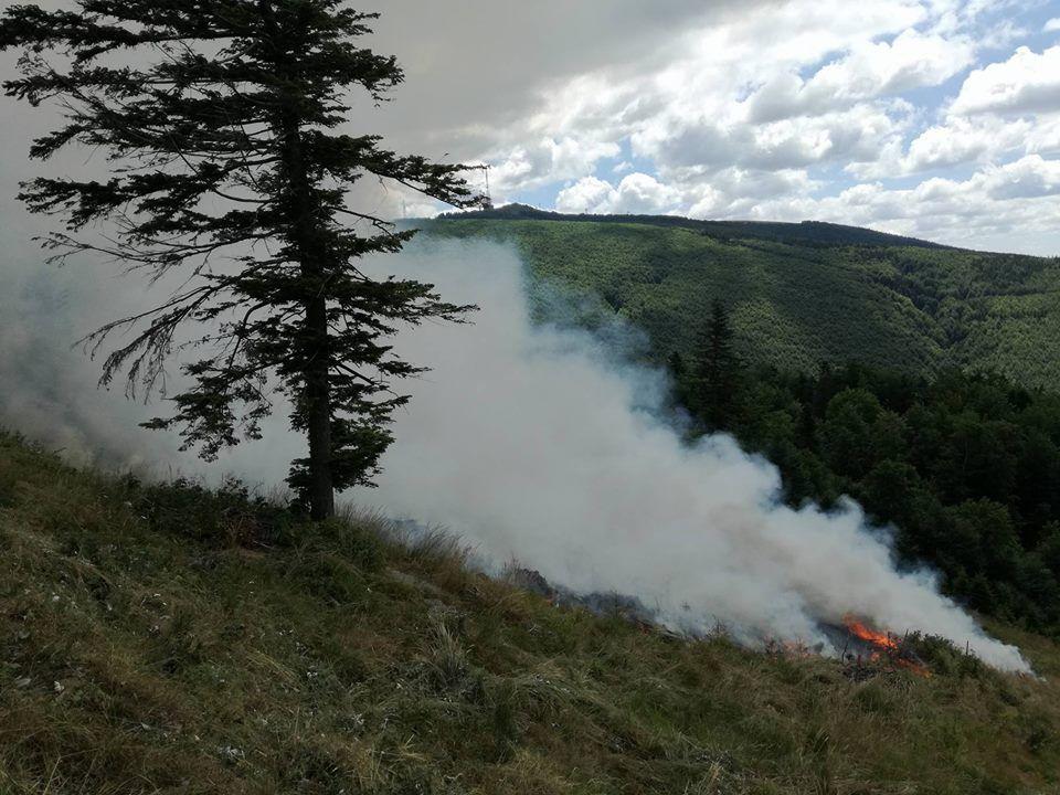Ce se ascunde în spatele incendiilor din Semenic