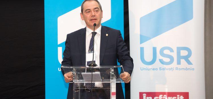 Congres extraordinar USR: Discursul candidatului Vlad Alexandrescu