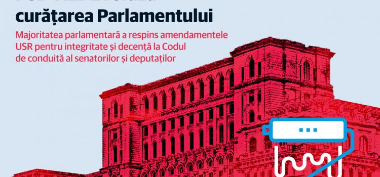 PSD-ALDE refuză curățarea Parlamentului