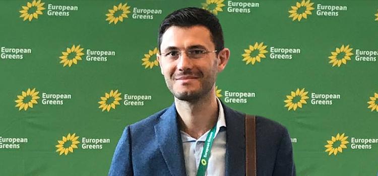 Deputatul USR Cornel Zainea, la întâlnirea Verzilor Europeni