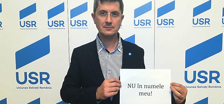 Domnilor Dragnea și Tăriceanu, nu în numele Parlamentului României!
