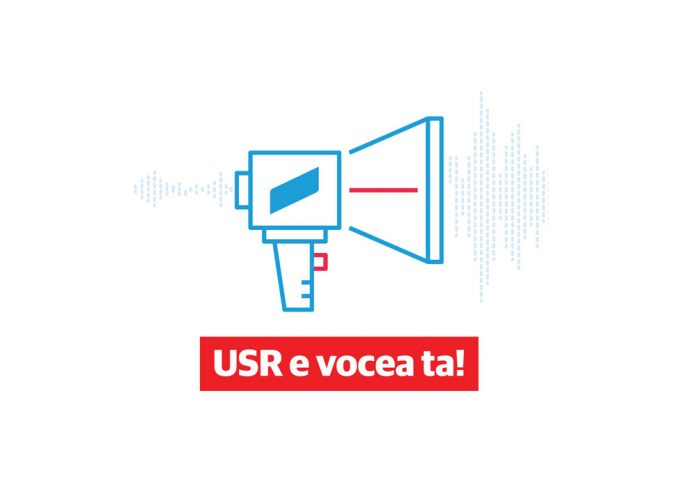 """Lansăm cea mai mare campanie de consultare civică din istoria politică a României: """"USR e vocea ta!"""""""