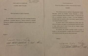 PSD-ALDE vrea să instaureze dictatura în Parlament