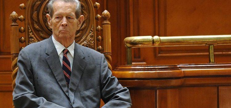 USR: Regele Mihai I va rămâne în istoria României ca un simbol al luptei pentru libertate şi pentru democraţie