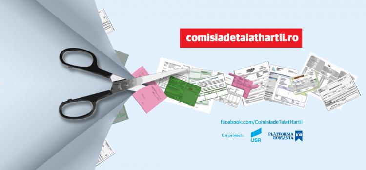Comisia de Tăiat Hârtii 2 propune simplificarea eliberării și reînnoirii actului de identitate