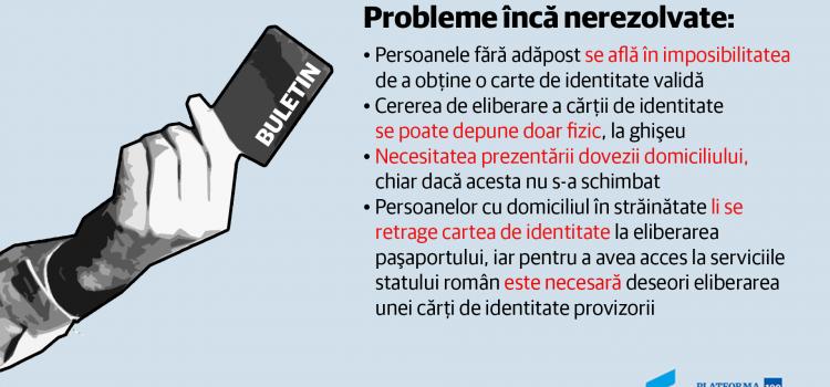 Comisia de tăiat hârtii propune soluții pentru obținerea cărții de identitate de către persoanele fără adăpost