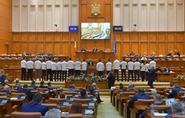 Protest USR față de adoptarea legilor Justiției în Camera Deputaților