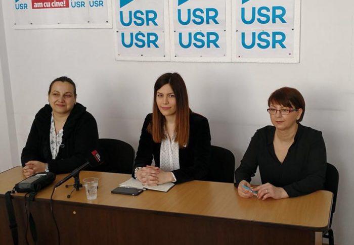 Deputata USR Cristina Prună a deschis un birou parlamentar în Petroșani, dedicat problemelor din Valea Jiului