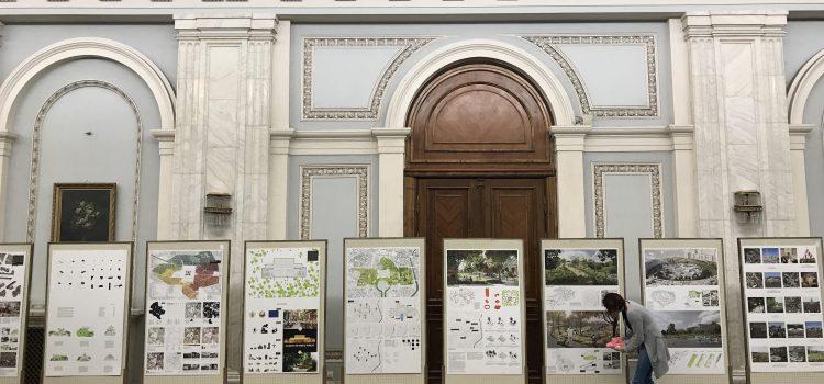 Parcul Uranus, expoziție în Parlament