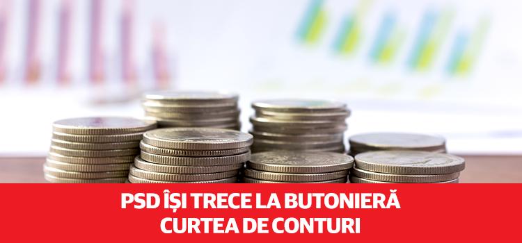 PSD vrea să controleze în totalitate Curtea de Conturi