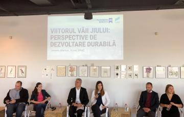 """USR și Platforma RO100 au lansat programul """"Viitorul Vaii Jiului: Perspective de dezvoltare durabilă"""""""