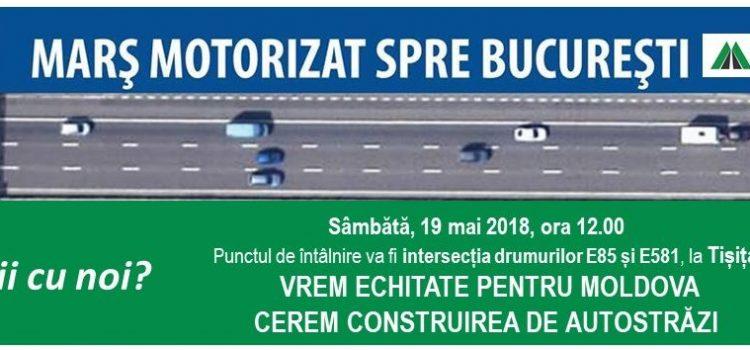 """USR susține marșul """"Împreună pentru A8"""" de la Iași la București"""