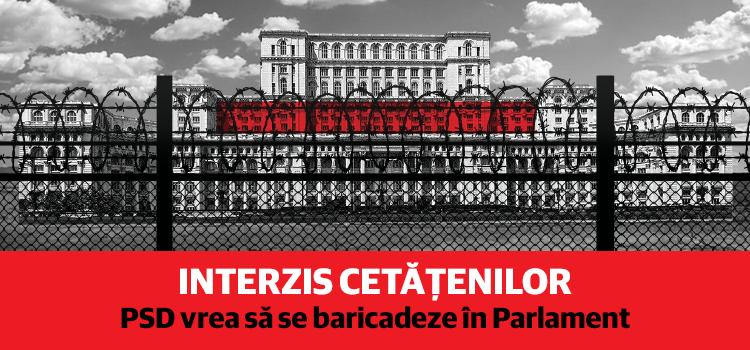 Abuzuri PSD pe bandă rulantă: USR nu mai are dreptul să invite oameni în Parlament