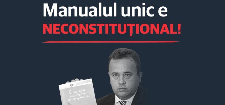 CCR confirmă demersurile USR: Manualul unic e neconstituțional
