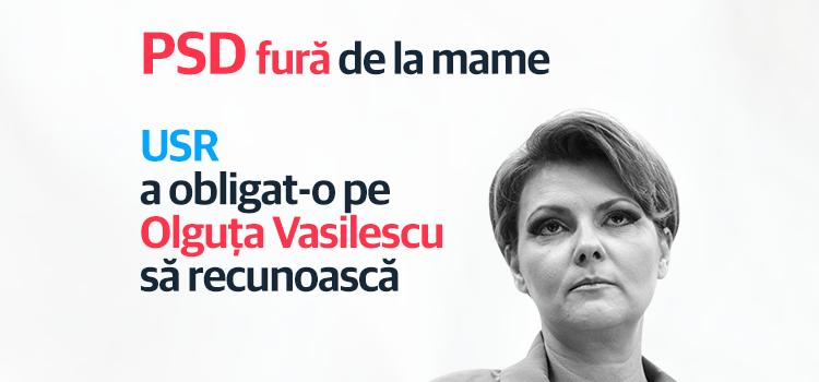 PSD recunoaște că a încercat să fure banii mamelor cu drepturi de autor