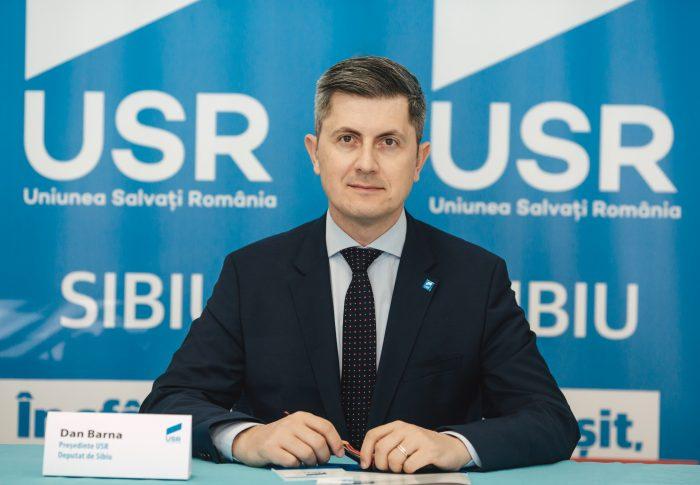 Dan Barna, la ședința festivă din Parlament: România centenară a fost creată de cei care nu au stat deoparte