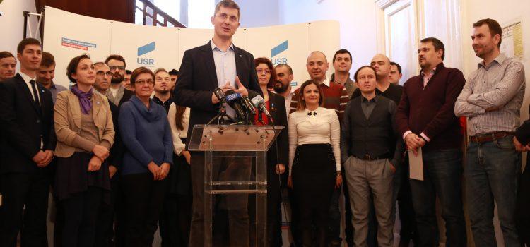 USR și-a ales candidații la alegerile europarlamentare din mai 2019
