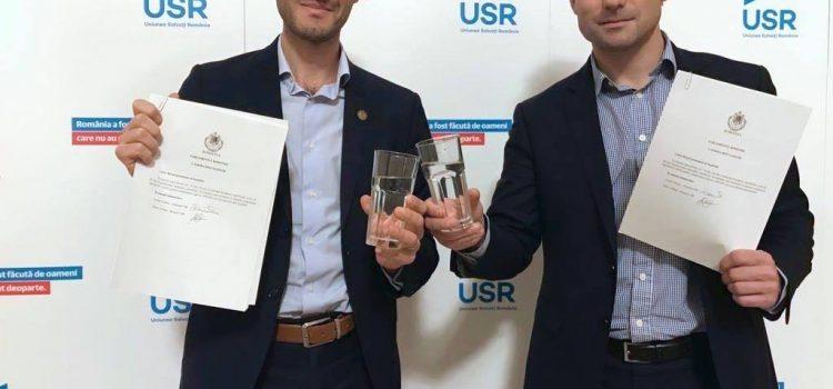 USR a depus legile pentru apă potabilă de la robinet gratuită, măsurarea calității apei și filtru gratuit