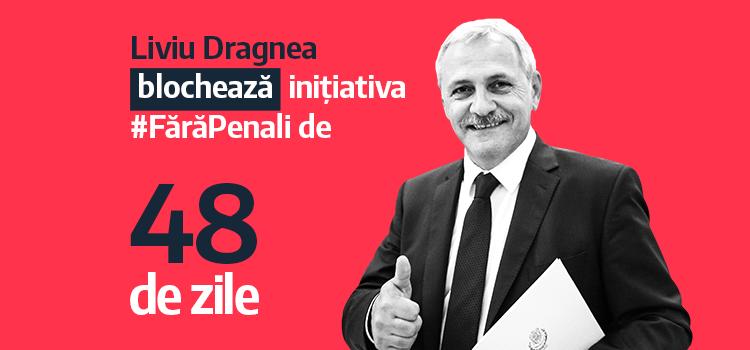 Inițiativa Fără Penali în funcții publice, blocată de Liviu Dragnea
