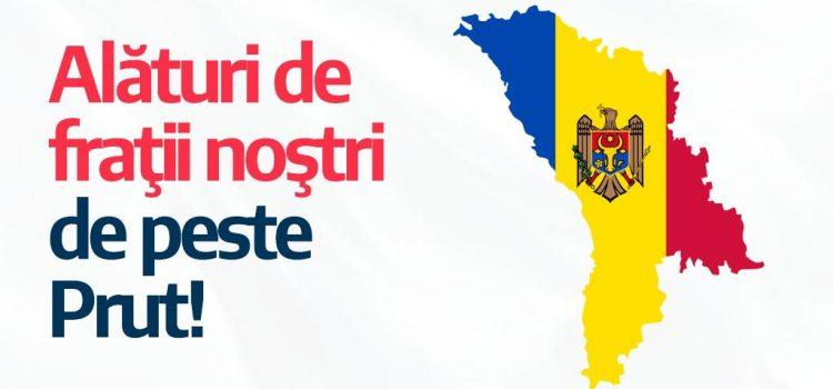 USR susține forțele pro-europene de la Chișinău