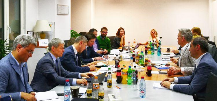 Alianța 2020 USR PLUS, întâlnire cu reprezentanții Coaliției pentru Dezvoltarea României: Ne dorim un parteneriat cu mediul de afaceri