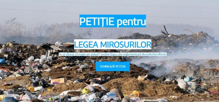 Petiție publică pentru Legea Mirosurilor