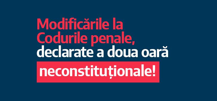USR cere coaliției PSD-ALDE să renunțe la proiectele Iordache de modificare a Codurilor penale