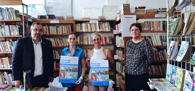 Până hăt de carte!  – Senatorul Dan Lungu a făcut noi donații de peste o mie de cărți