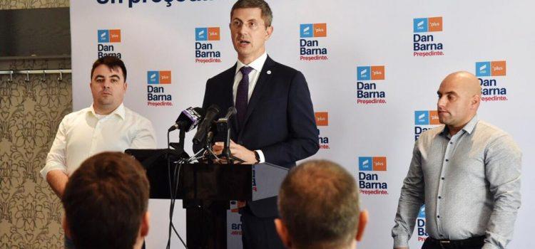 Dan Barna, în Arad: Miza alegerilor prezidențiale, fără PSD în turul II