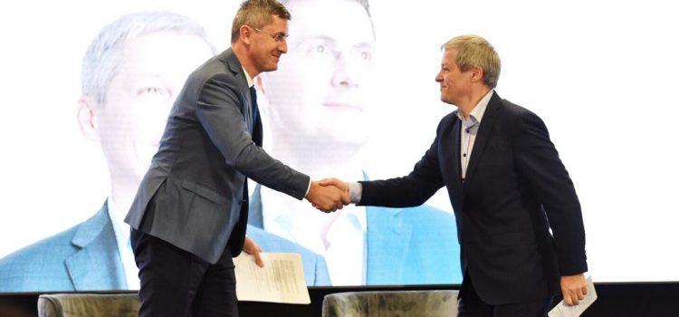 Dan Barna, candidatul Alianței USR PLUS, și-a prezentat programul de Președinte la Brașov