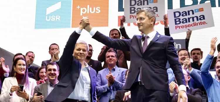 Dan Barna, la mitingul Alianței din București: Putem câștiga Președinția