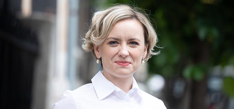 Cosette Chichirău, candidatul Alianței USR PLUS pentru Primăria Iași