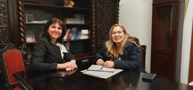 Deputatul Cristina Iurișniți, discuție cu ministrul Educației pe tema bugetului pe 2020 și a proiectelor USR