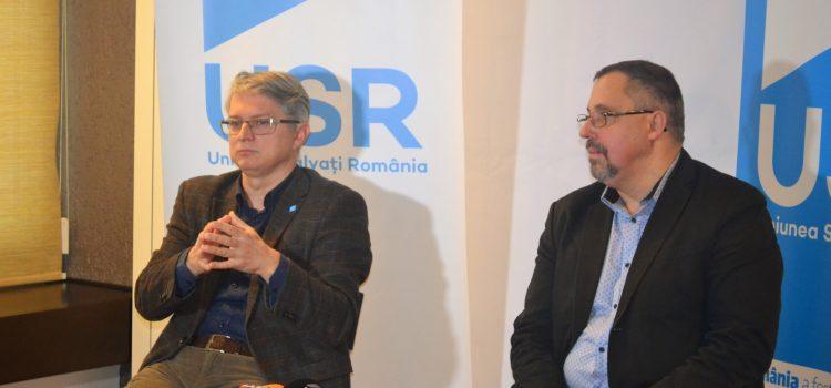 """Inițiativa """"Lokal Diaspora"""" și colaborarea Alianței USR PLUS, discutate de senatorii Radu Mihail și Dan Lungu la Iași"""