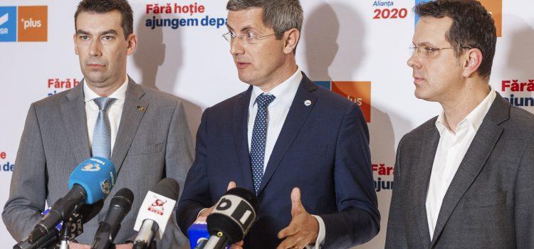 Alianța USR PLUS cere calendar clar pentru anticipate și alegeri în două tururi