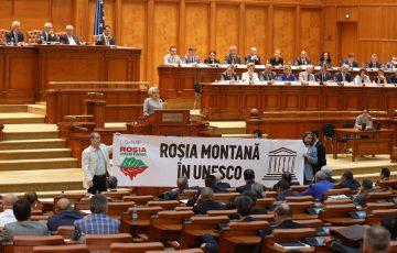 De Ziua Culturii Naționale, USR solicită Guvernului reluarea procedurilor de includere a Rosiei Montane în UNESCO