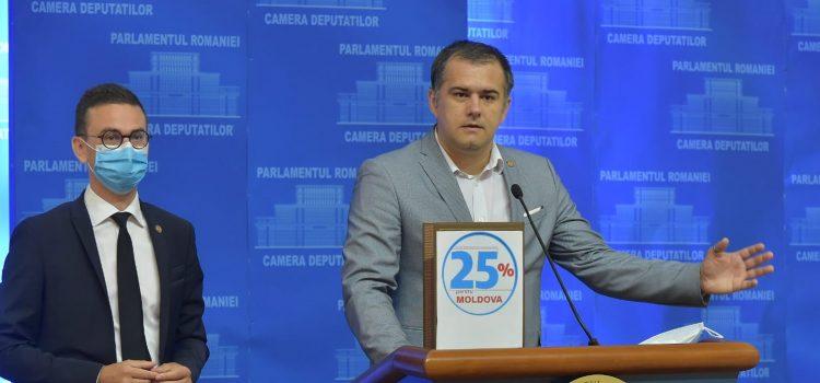 Parlamentarii USR cer 25% pentru Moldova