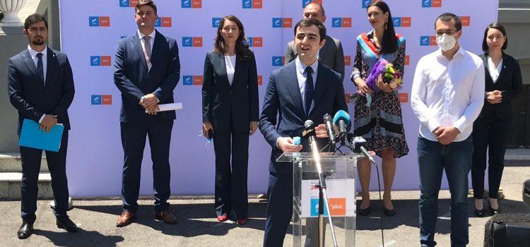 Alianța USR PLUS și-a prezentat candidații pentru primăriile de sector