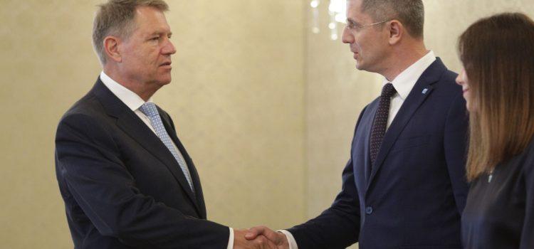 Dan Barna, întâlnire cu președintele Klaus Iohannis la Cotroceni