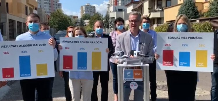 Sondaj prezentat de Stelian Ion. Ce procente au candidații la Primăria Constanța?