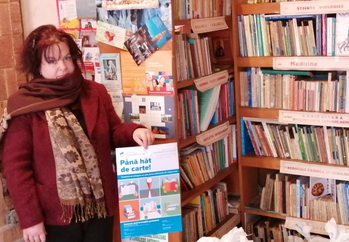 """Proiectul """"Până hăt de carte!"""" a ajuns la Miroslava și Comarna cu donații de peste o mie de cărți"""