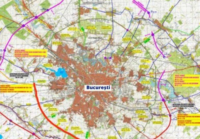 Lărgirea la patru benzi a centurii Bucureștiului devine realitate