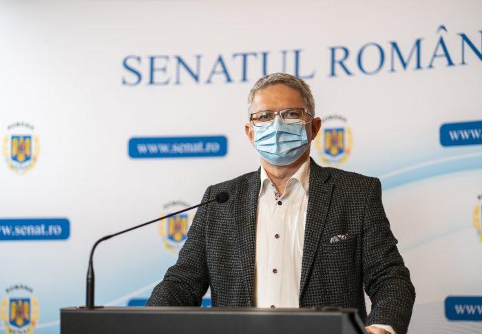 Radu Mihail, liderul grupului USR PLUS din Senat: Justiția să-și urmeze cursul, dacă legea a fost încălcată. Parlamentul dă legi, nu anchetează